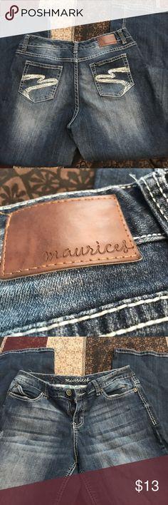 Maurices Ladies Jeans Stylish pocket design boot cut     (12) Maurices Jeans Boot Cut