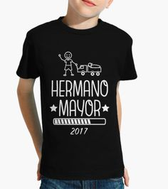 Camiseta Hermano Mayor 2017 negro