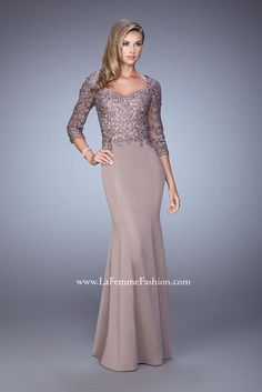 La Femme Evening 21673 La Femme Evening Best Bridal, Prom, and Pageant gowns in Delaware