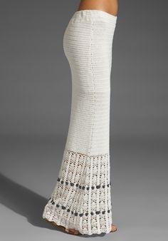 Crochetemoda: Saia Longa de Crochet | Easy, pretty