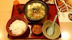 キャベツたっぷりピリ辛塩鍋定食