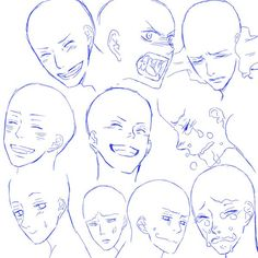 Read Expresiones Faciales II from the story Referencias Para Dibujos by jelly_jeongguks (I'm a Creep) with reads. Drawing Face Expressions, Anime Faces Expressions, Facial Expressions, Manga Drawing Tutorials, Art Tutorials, Drawing Base, Figure Drawing, Boca Anime, Anime Drawings Sketches