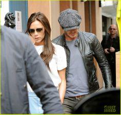 Wear It Like Beckham: Beckham's New Favorite Belstaff Leather Jacket