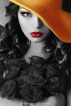 Portrait Photography by margery Red Flowers, Red Roses, Color Splash, Color Pop, Portrait Photography, Fashion Photography, Beauty And Fashion, Woman Fashion, Foto Art