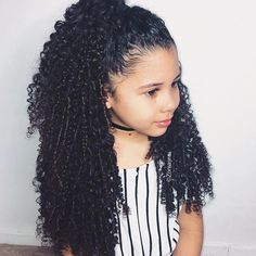 ~Most beautiful hair ever~ Mixed Baby Hairstyles, Kids Curly Hairstyles, Little Girl Hairstyles, Trendy Baby, Curly Hair Styles, Natural Hair Styles, Natural Curls, Biracial Hair, Pelo Afro