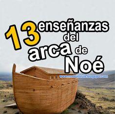 Modesto Lule Zavala : 13 enseñanzas sobre el arca de Noé