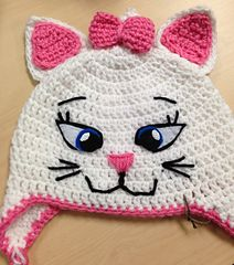 Marie Kitty Hat--free pattern @ Ravelry http://amzn.to/2qVpaTc