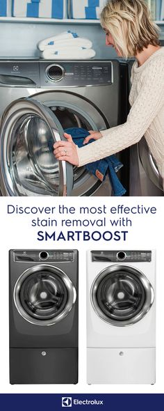 Maximize cleaning power with SmartBoost technology from Electrolux, which premixes your detergent before it mixes with your clothing to maximize the cleaning power of the detergent. Developed to keep your colors vibrant, longer, SmartBoost delivers an exceptional clean even in cold water. Bring the power of SmartBoost into your home today. — with @juliadzafic