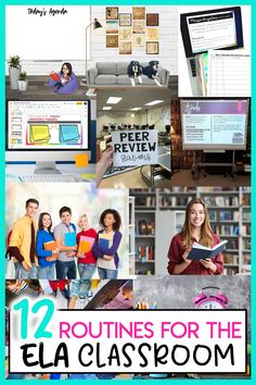 These classroom routines for the middle school ELA and high school English classroom will help your classes run smoothly. 12 Classroom Routines for the Secondary ELA Classroom. #secondaryELA #2ndaryELA #classroomroutines #classroommanagement #middleschoolELA #highschoolEnglish #teachertips #teacheradvice Classroom Routines, Ela Classroom, High School Classroom, English Classroom, Classroom Procedures, English Teachers, Teaching English, Classroom Decor, Middle School Ela
