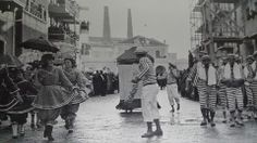 sfilata carri di carnevale - 1958 - Molfetta