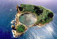 Kráterlagúnában búvárkodni az óceán közepén – Azori szigetek