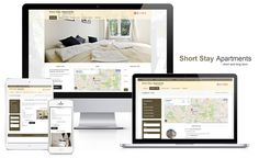 Short Stay AS Oslo, Web Design, Projects, Log Projects, Design Web, Site Design, Website Designs