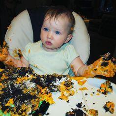 Milla Jovovich's Daughter Turns 1 - http://site.celebritybabyscoop.com/cbs/2016/04/05/milla-jovovichs-daughter #Birthday, #CakeSmash, #DashielJovovichAnderson, #EverJovovichAnderson, #HappyBirthday, #Milestone, #MillaJovovich, #PaulWSAnderson
