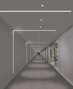 Merchandise Mart Chicago, IL | TruLine 1.6A - by Pure Lighting