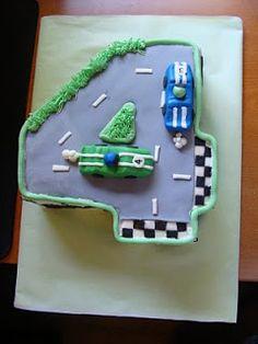 Jo's Cakes: Race Car Cake