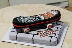 Skateboard Cakes – Decoration
