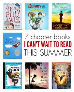 Here are some ideas for new picture and early chapter books to read this summer.