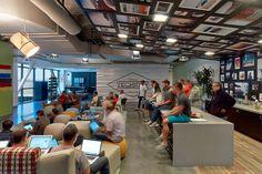 Google's new office in Irvine, California