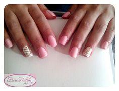 Uñas naturales esmaltado semipermanente nail art