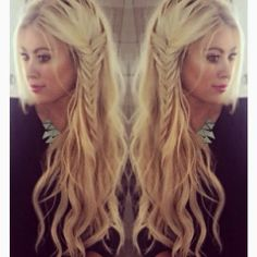 How to Chic: FISHTAIL BRAID HAIRSTYLES