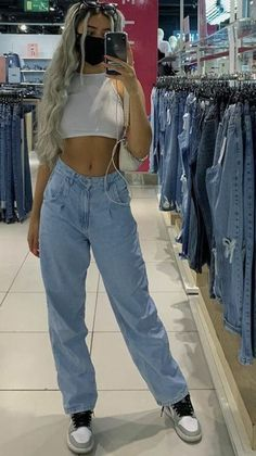 Adrette Outfits, Skater Girl Outfits, Indie Outfits, Teen Fashion Outfits, Cute Casual Outfits, Retro Outfits, Look Fashion, Simple Outfits, Stylish Outfits