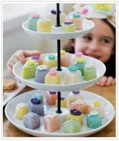 Tea Party Theme - Doll-Sized cakes