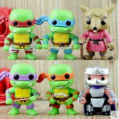 6pcs/lot neca toy #funko pop 8cm teenage #mutant ninja turtles #action figure tmn,  View more on the LINK: 	http://www.zeppy.io/product/gb/2/252517007746/