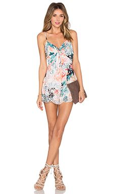 Lovers + Friends Bello Romper in Paradise Floral