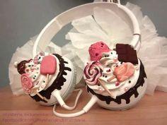 auriculares kawaii cute decora japón sony
