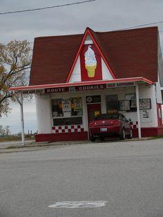 Route 66 cookies in Kansas