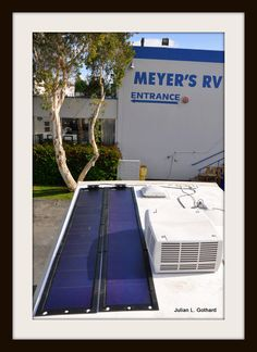 Your ability to generate solar energy in an RV is only limited by your available roof space and your budget. These two PVL mats generate 138 watts which is more than enough to keep my batteries topped up and to run a TV/Sat/DVD for passengers whilst on the road.
