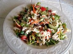 One Crunchy Salad, Two Ways