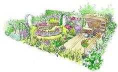 Comment aménager un jardin fleuri : les conseils d'un paysagiste // http://www.deco.fr/jardin-jardinage/jardin-ornement/actualite-590838-amenager-jardin-fleuri-conseil-paysagiste.html