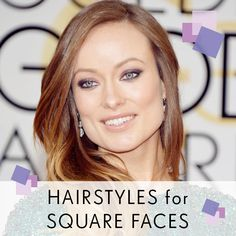 Before you head for the chop, take a look at our guide to hairstyles for square faces, inspired by some of our favourite celebrities! Haircut For Square Face, Square Face Hairstyles, Work Hairstyles, Older Women Hairstyles, Hairstyle Ideas, Hair Ideas, Rockabilly Makeup, 50s Makeup, Crazy Makeup