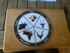 Biltong tasting at Spice Route Biltong, Spices, Dairy, Clock, Shorts, Decor, Watch, Spice, Decoration