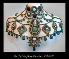 Australian Wedding Piece, Betty Stephan--Love the unusual form!