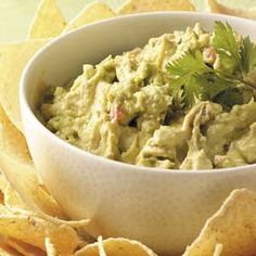 Avocado Dip Recipe from Taste of Home -- shared by Kay Dunham of Amity, Missouri