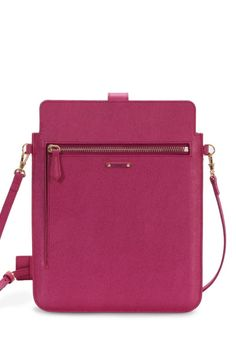 FENDI  iPad Carrier in Fushia Pink Leather