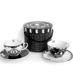 victorian cameo tea cups and saucers set