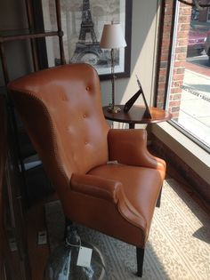 The Antiquarian Shop has some of Hickory Chair's Furniture on display; like the 382-55 Isaac Wing Chair. http://www.hickorychair.com/Furniture/ItemDetail.aspx?ItemID=506496