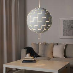 IKEA PS 2014 white, Pendant lamp, 52 cm - IKEA Ikea Ps 2014, Ikea Boys Bedroom, Gamer Bedroom, Bedroom Ideas, Ikea Ceiling Light, Ceiling Lights, Clear Light Bulbs, Yurts