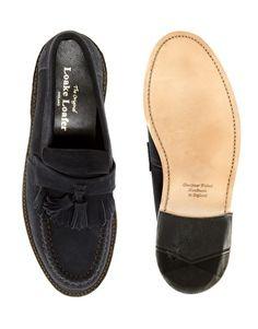 Loake Suede Tassel Loafers
