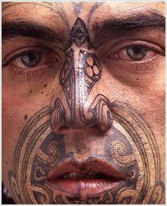 Maori Tribal Tattoo Designs Tips: Face Maori Tribal Tattoo Designs For Men… Tribal Tattoo Designs, Maori Tribal Tattoo, Ta Moko Tattoo, Maori Art, Tattoo Designs And Meanings, Maori Tattoos, Samoan Tattoo, Facial Tattoos, Body Art Tattoos