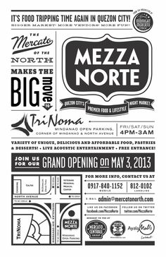 Mezza Norte by Samuel Leon, via Behance