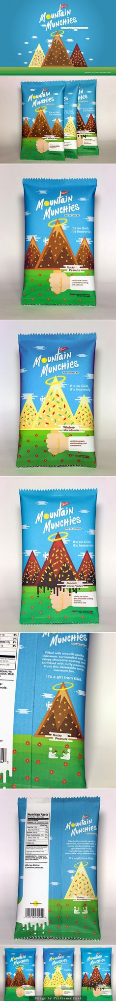 Güd\'s Mountain Munchies (Student Project) by Jewelyn Butron