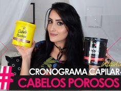 CRONOGRAMA CAPILAR CABELOS POROSOS! IDENTIFICAR E TRATAR!