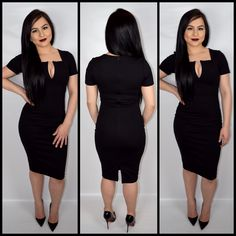 Right in Between - Black – Devotion Boutique