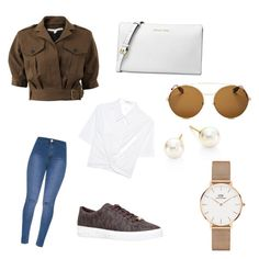 """#Michaelkors #DW"" by ranbe on Polyvore featuring Mode, Veronica Beard, T By Alexander Wang, MICHAEL Michael Kors, Michael Kors, Givenchy, Majorica und Daniel Wellington"