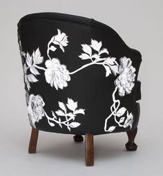 Love this chair - In keeping with my pinning today could go on my B&W plus 1 board