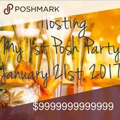 🎉My very 1st Posh Party!! Jan 21, 2017🎉 Co-Hosting my first posh party!! January 21st, 2017 at 7pm PT/10pm ET. Theme to be announced. I'm beaming with excitement!!🤗🎉🤗🎉🤗 I can't wait to find out the theme and choose host picks!!!🎉🎉🎉🎉🎉 J Brand Jeans Skinny